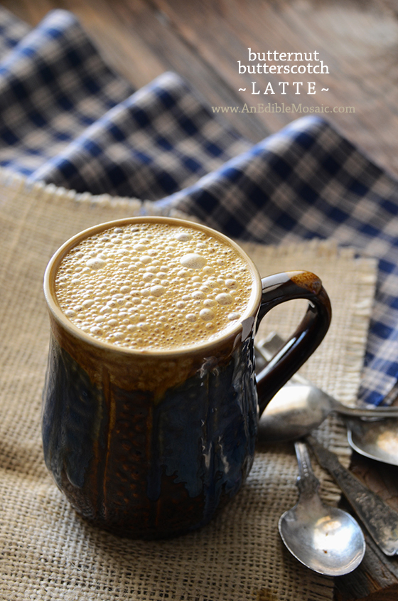 Butternut Butterscotch Latte