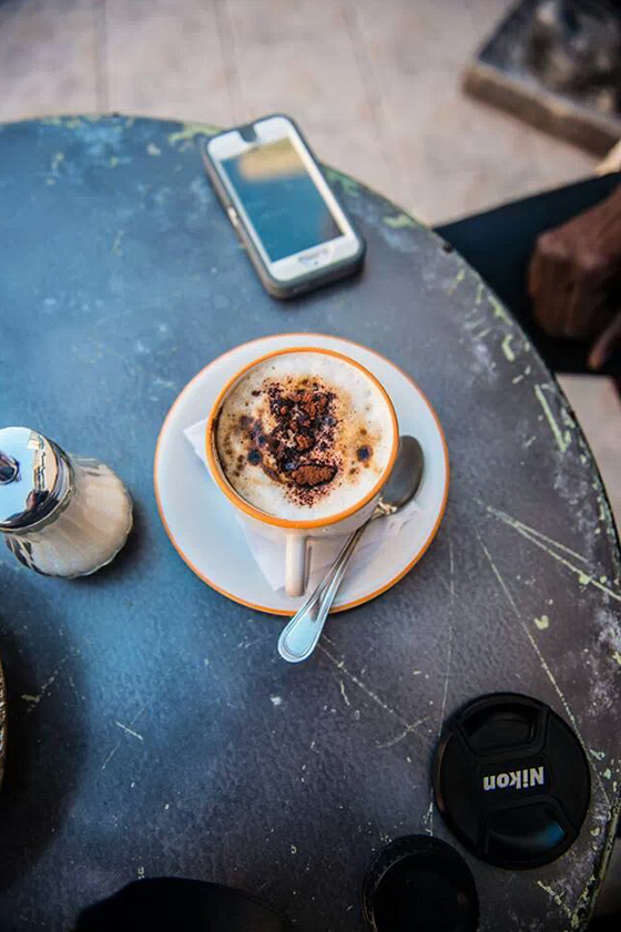 Cappuccino in Bahrain by Mike Safarini