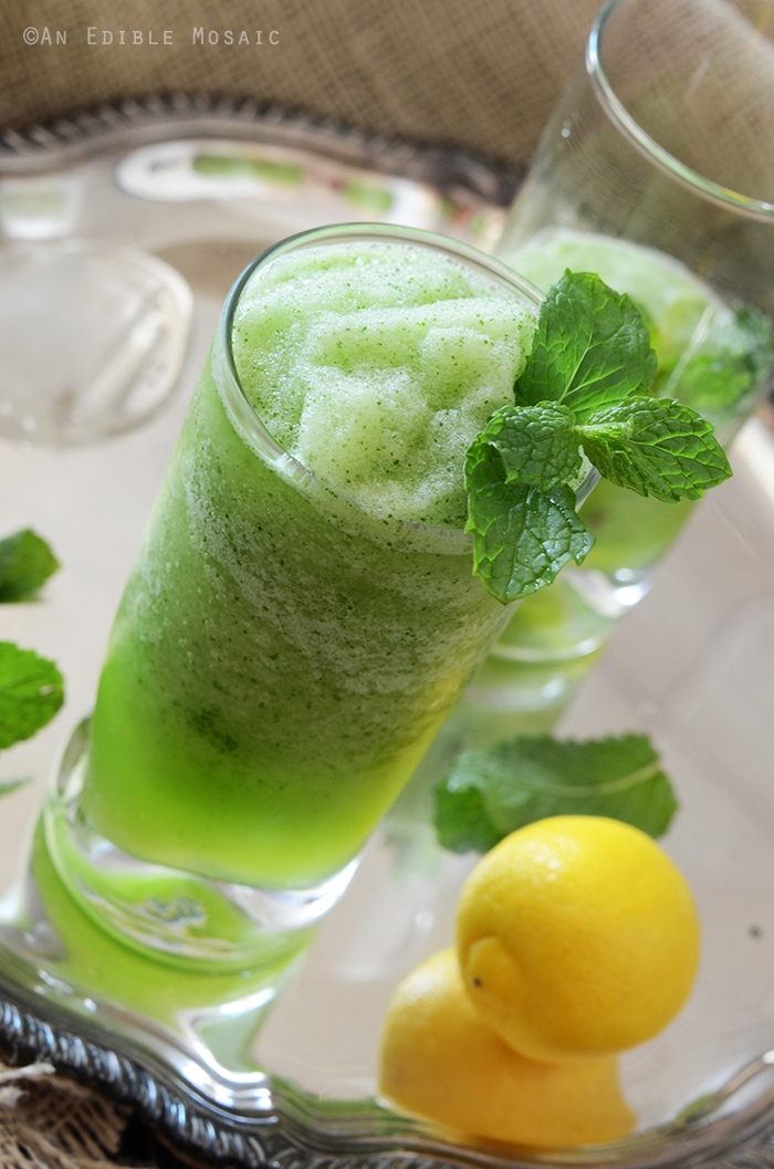 Limonana (Middle Eastern Frozen Mint Lemonade) 2