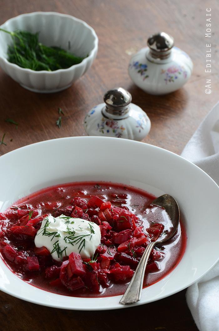 Borscht (Russian-Style Beet Soup) 3