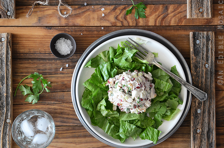 Creamy Cranberry-Walnut Chicken Salad 4