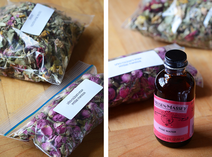 Rosewater, Rosebuds, and Zhourat