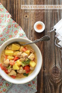 Pina Colada Chicken Recipe {Plus Paleo Eating and a Review of Melissa Joulwan's Well Fed 2 Cookbook}