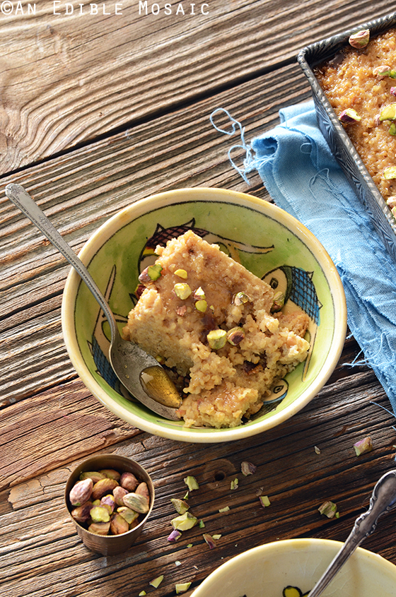 Middle Eastern Tahini, Date, and Cardamom Bulgur Wheat Breakfast Bake 2
