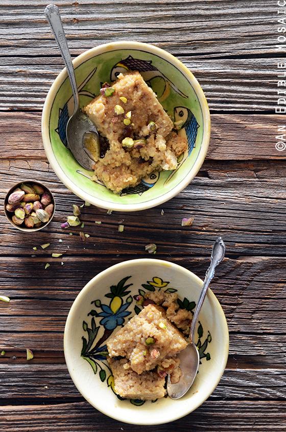 Middle Eastern Tahini, Date, and Cardamom Bulgur Wheat Breakfast Bake 3
