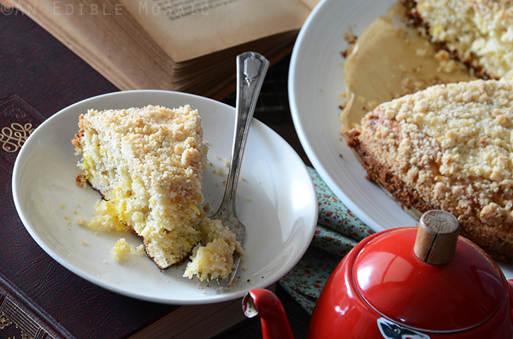 Pineapple Cardamom Coffee Cake with Coconut Crumb Topping 4