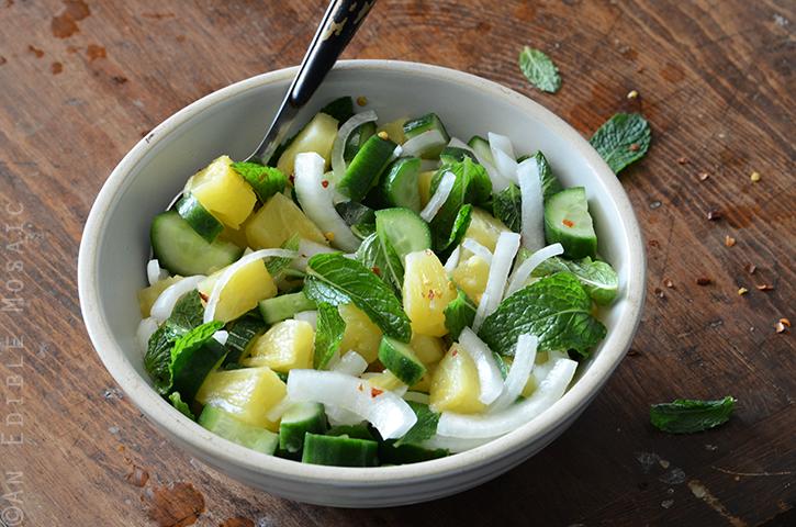 Savory Pineapple Salad 3