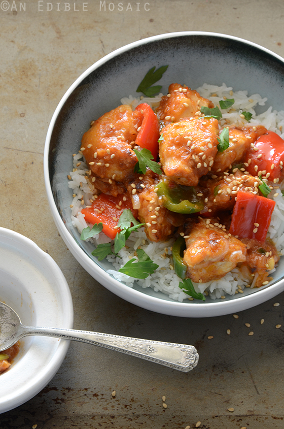 Sweet and Sour Chicken 2