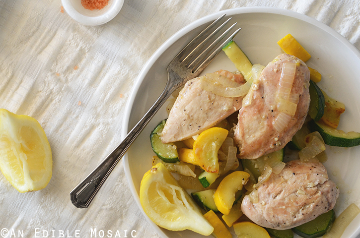 One-Skillet Chicken and Summer Squash Sauté 3