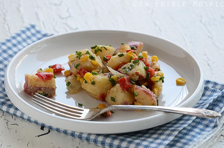 Roasted Veggie Potato Salad 3