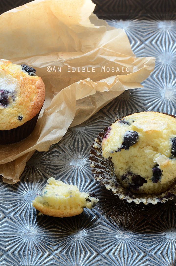 Classic Lemon-Scented Blueberry Muffins Recipe 3