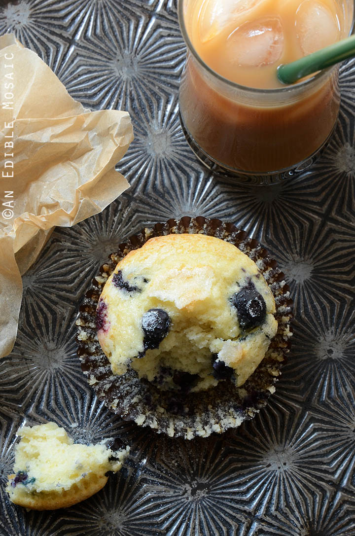 Classic Lemon-Scented Blueberry Muffins Recipe 4