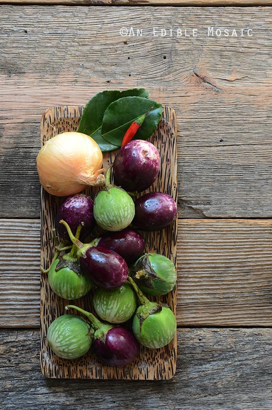 Thai Eggplant and Baby Eggplant