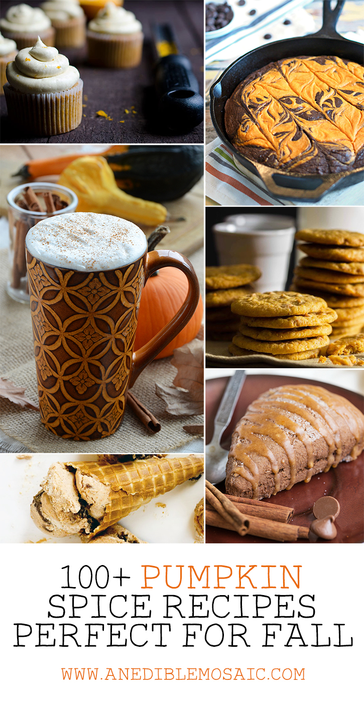 100+ Pumpkin Spice Recipes Perfect for Fall
