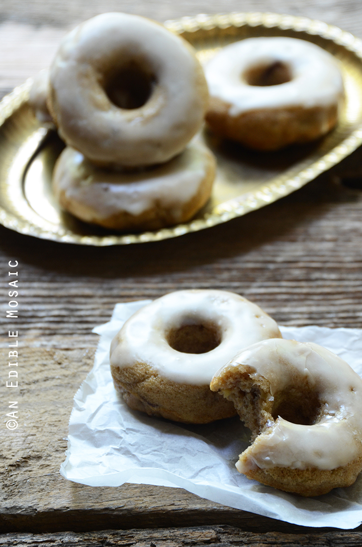 Baked Apple Cinnamon Doughnuts with Apple Cider Glaze Recipe 1