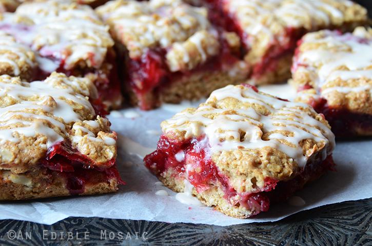 Cranberry-Oat Jam Bars 4