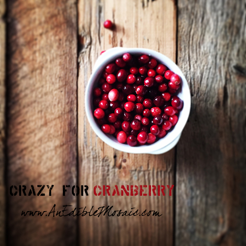 Crazy for Cranberry Logo