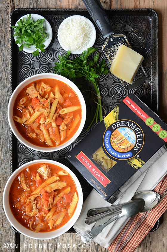 Easy Chicken Parm Soup 4