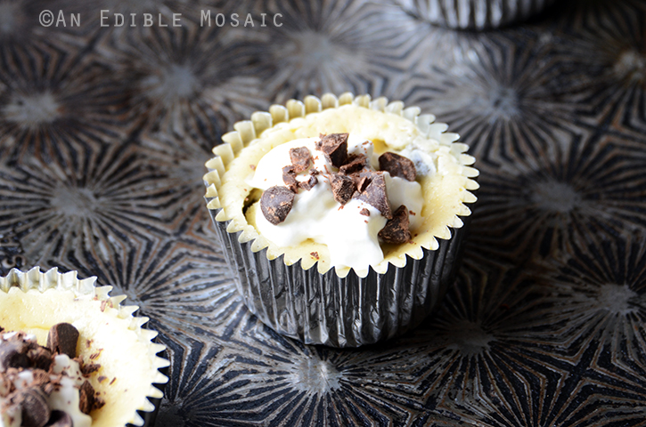 Individual Cookies and Cream Cheesecakes 4