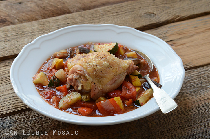 Roast Chicken Ratatouille {Paleo} 5