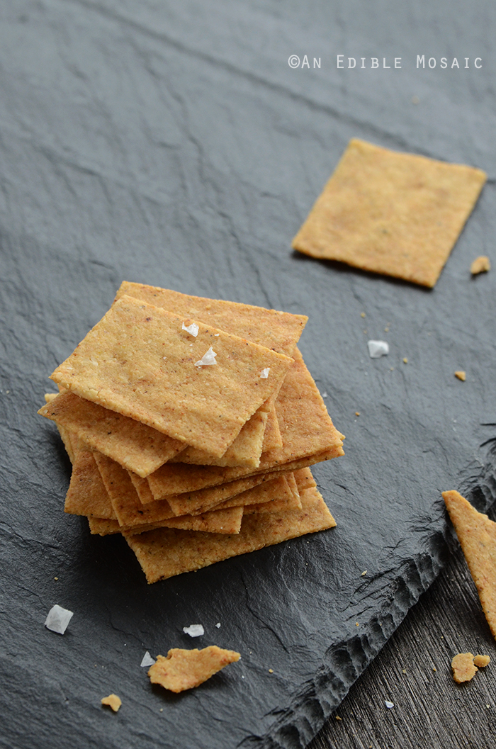 "Baked ""Cheese"" Crisps {Vegan} 2"