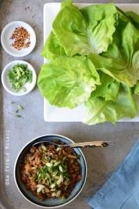 PF Chang's Copycat Chicken Lettuce Wraps