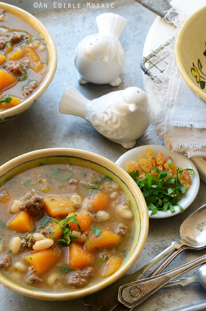 Sweet and Spicy Beef, Butternut, and White Bean Stew 3