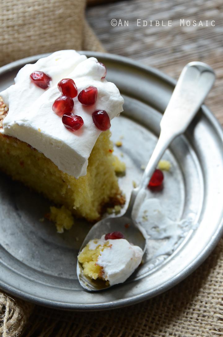 Cardamom Saffron Cake 5