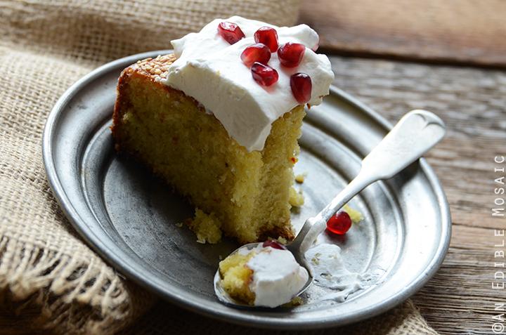 Cardamom Saffron Cake 7