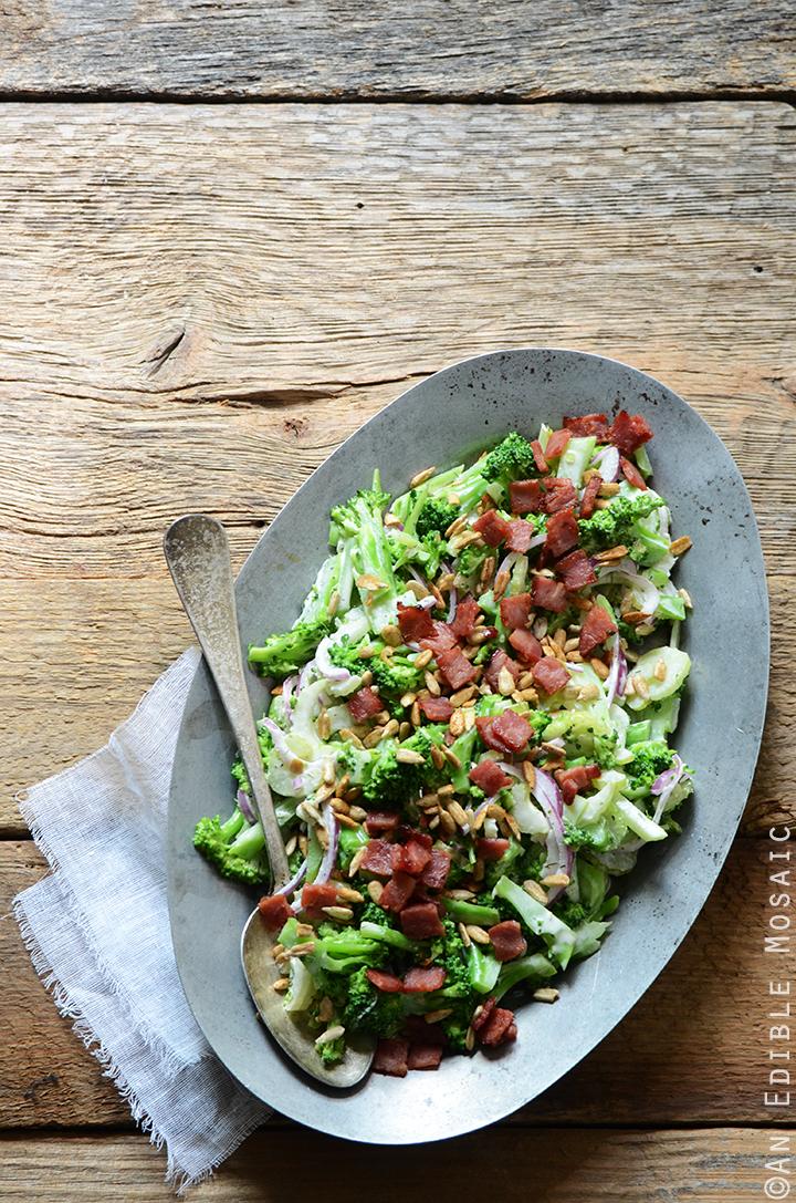 Crunchy Broccoli Salad with Creamy Dressing 2