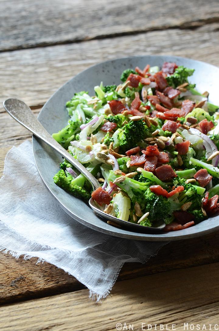 Crunchy Broccoli Salad with Creamy Dressing 3