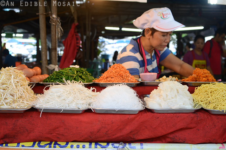Noodle Vendor in Thailand
