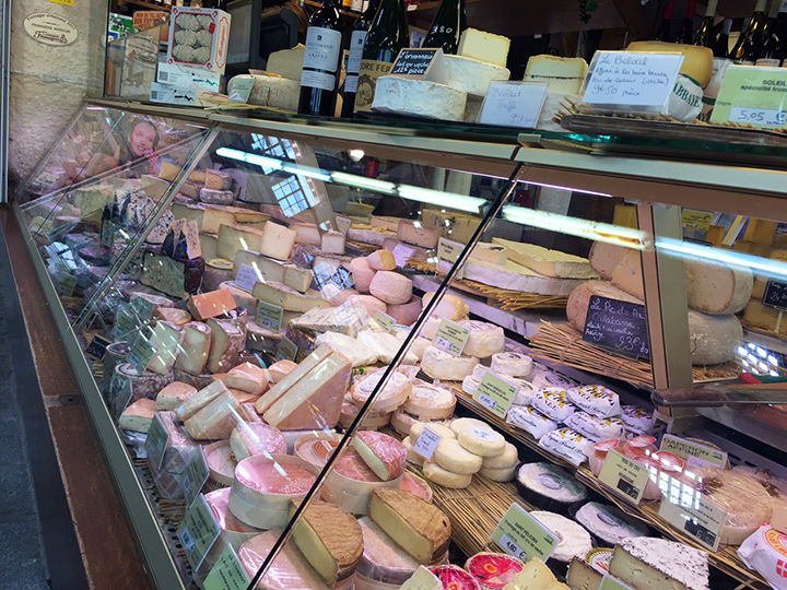 Fromagerie at Marche d'Aligre