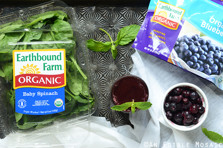 Minted Blueberry Balsamic Smoothie 2