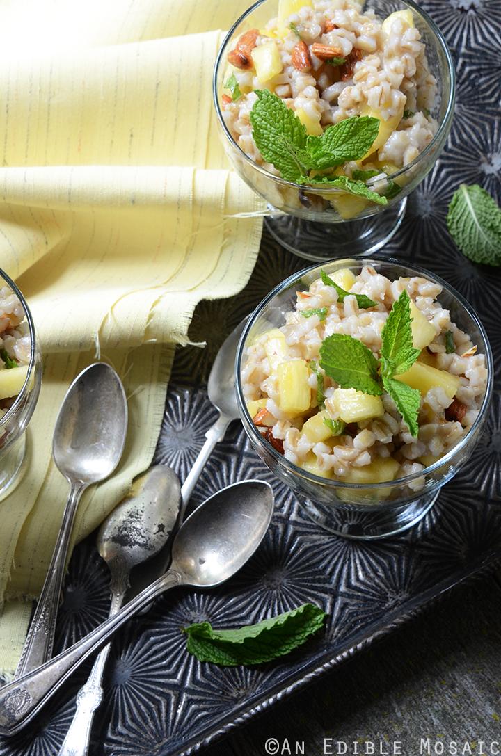 Breakfast Pineapple and Pearl Barley Pilaf 3