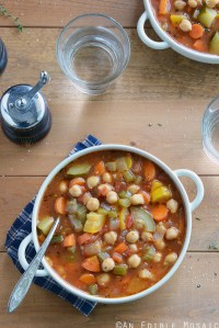 Chickpea Garden Vegetable Soup
