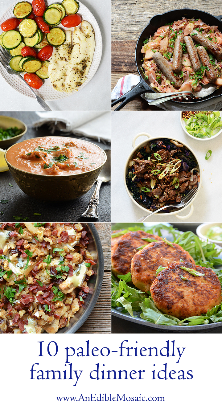 10 Paleo-Friendly Family Dinner Ideas