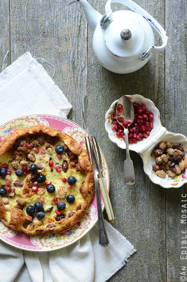 15-Minute Dutch Baby Pancake for One {Gluten-Free} 1