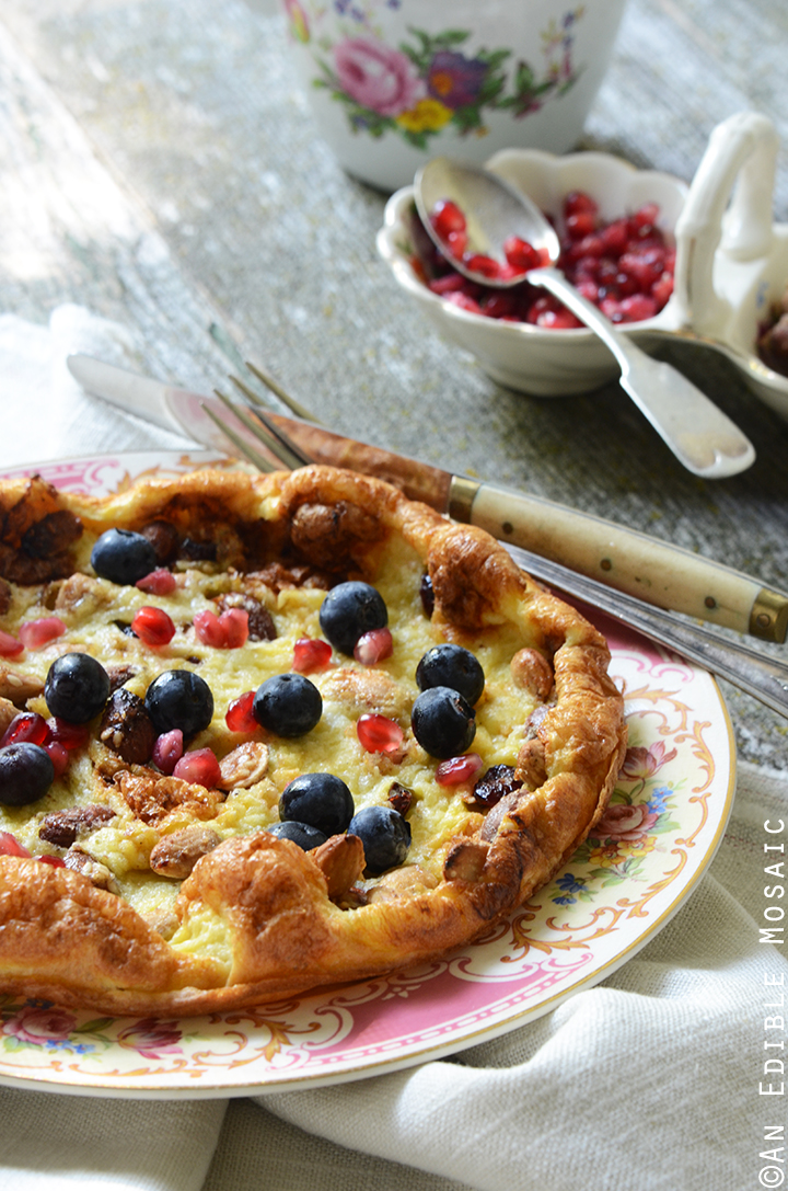 15-Minute Dutch Baby Pancake for One {Gluten-Free} 2