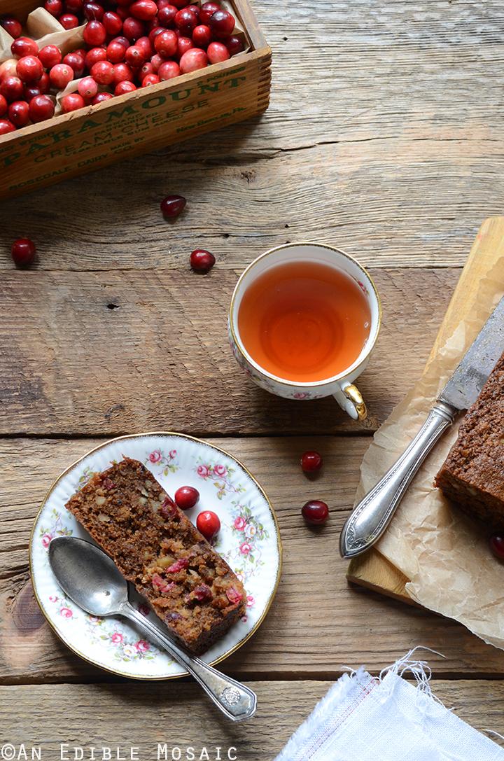 Cranberry-Pecan Loaf {Paleo}