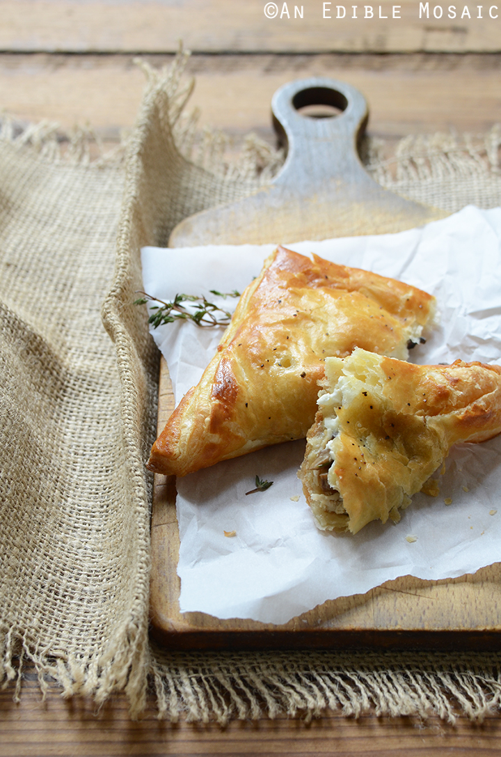 Easy Leftover Turkey, Mushroom, and Brie Puff Pastries 3