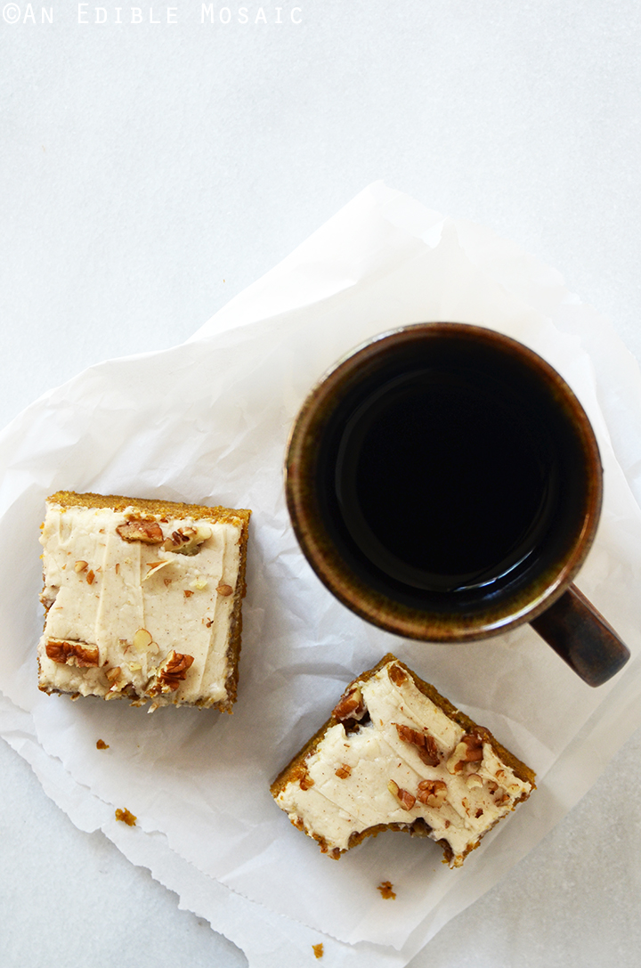 Pumpkin Spice Latte Snack Cake with Brown Butter Buttercream 3