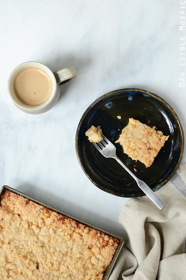 Streusel-Topped Apple Cinnamon Custard Cake 1