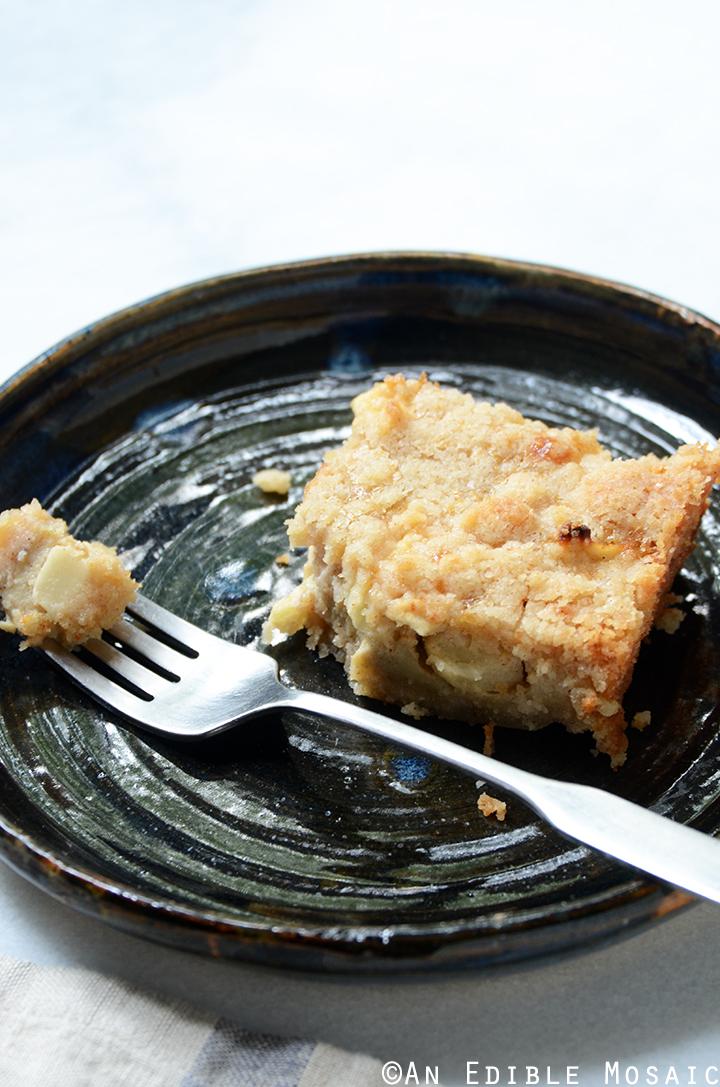 Streusel-Topped Apple Cinnamon Custard Cake 4