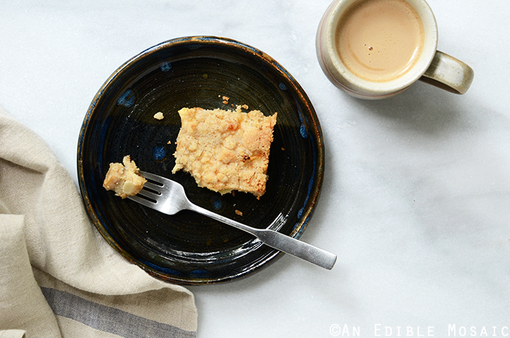Streusel-Topped Apple Cinnamon Custard Cake 5
