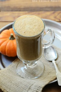 Sweet Potato Spice Latte {Paleo; Vegan}