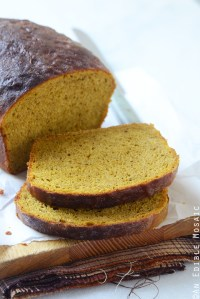 Warm-Spiced Pumpkin Yeast Bread