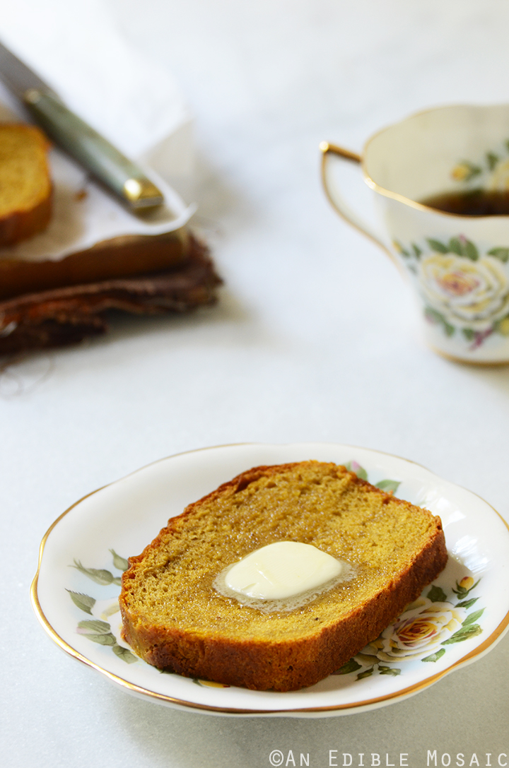 Warm-Spiced Pumpkin Yeast Bread 2