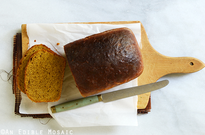 Warm-Spiced Pumpkin Yeast Bread 4