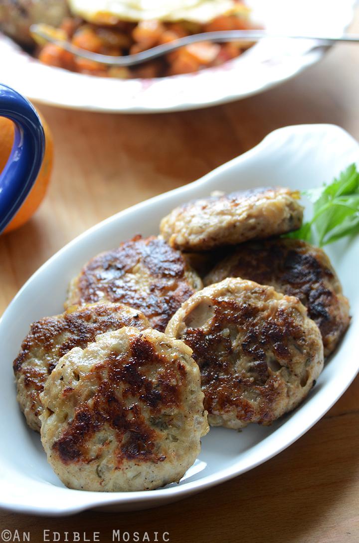 Apple-Onion Chicken Breakfast Sausage